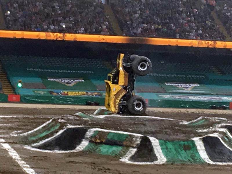 Monster Jam,   Principality Stadium, Cardiff, May 2018
