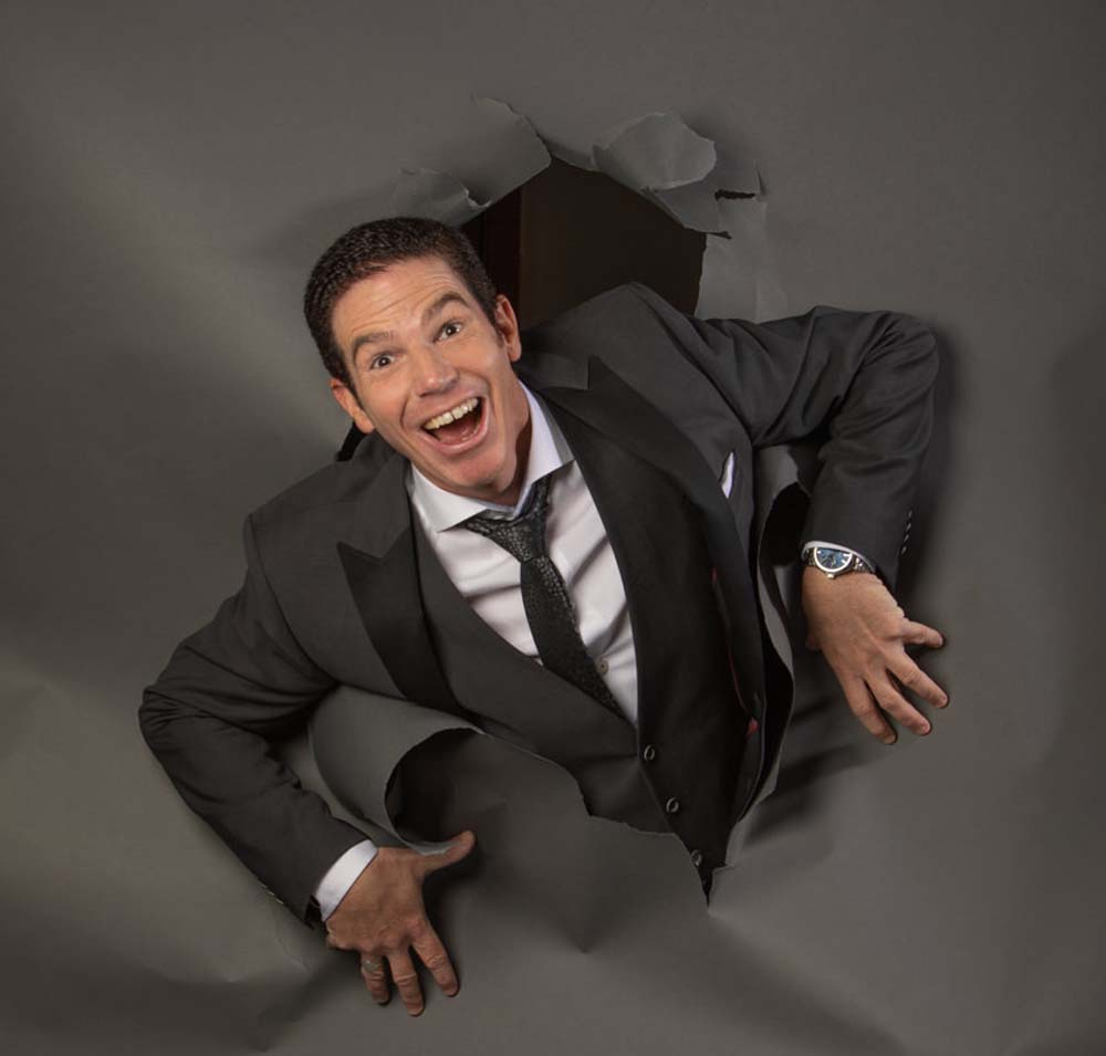 Welsh comedian Rob Woodward headlines his own stand-up show at St David's Hall on March 2.
