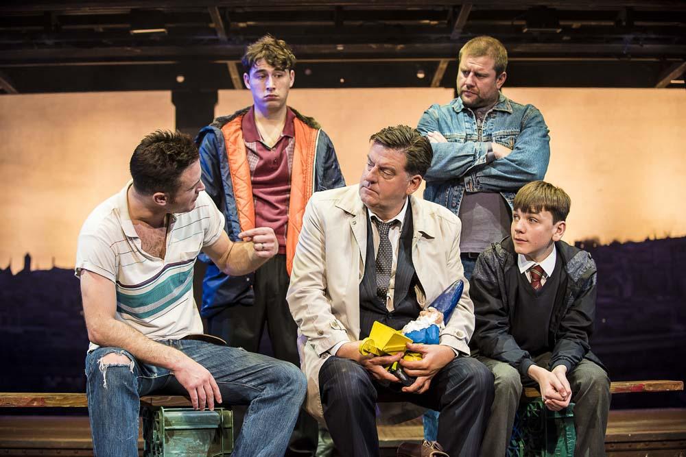 The Full Monty  plays at Wales Millennium Centre until 16th March 2019 Photos by Matt Crockett