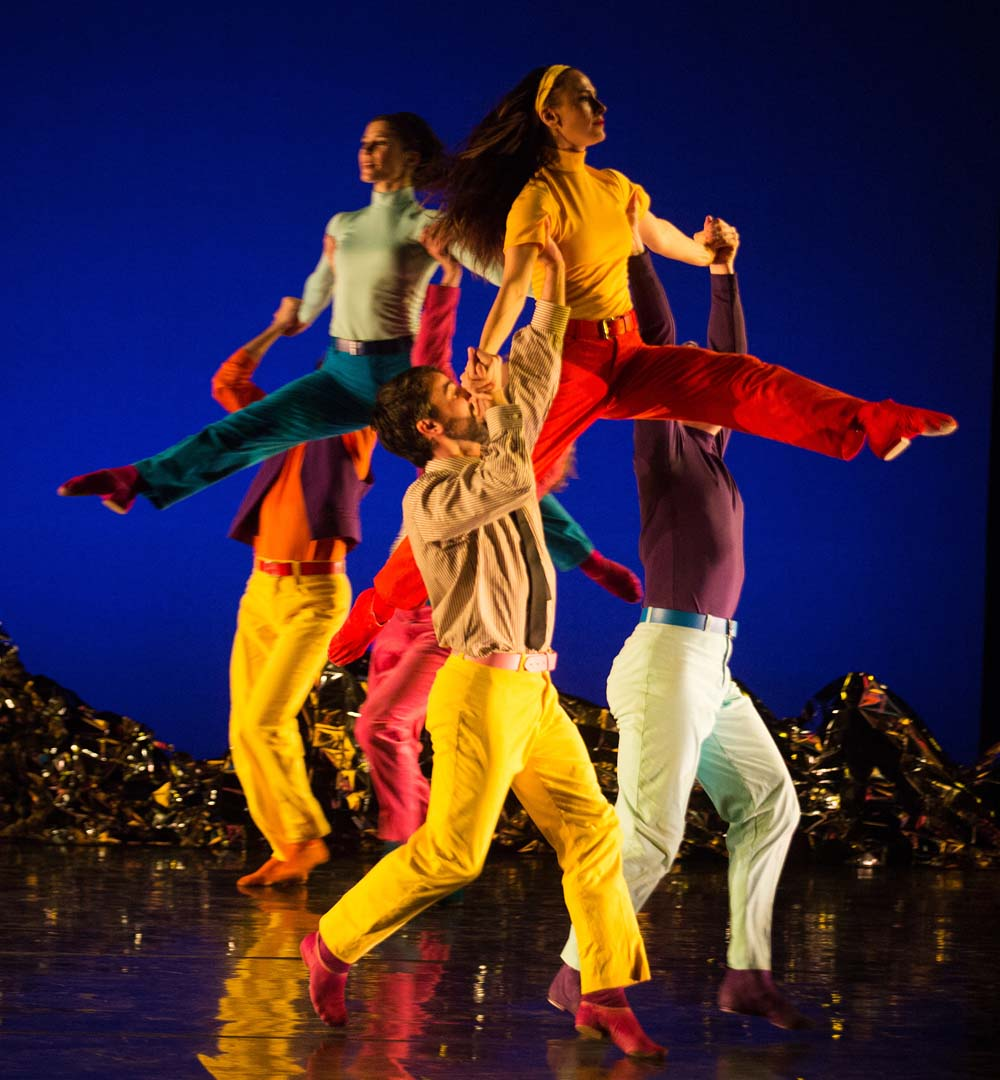 The Mark Morris Dance Group present Pepperland at Wales Millennium Centre from April 12-13, 2019 Photograph: Mat Hayward.