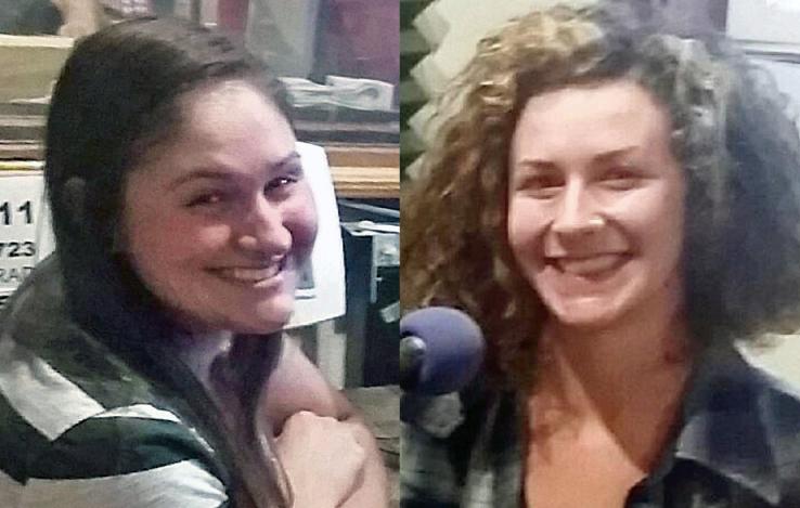 Sydney Morrone and Isabella Vanderheiden