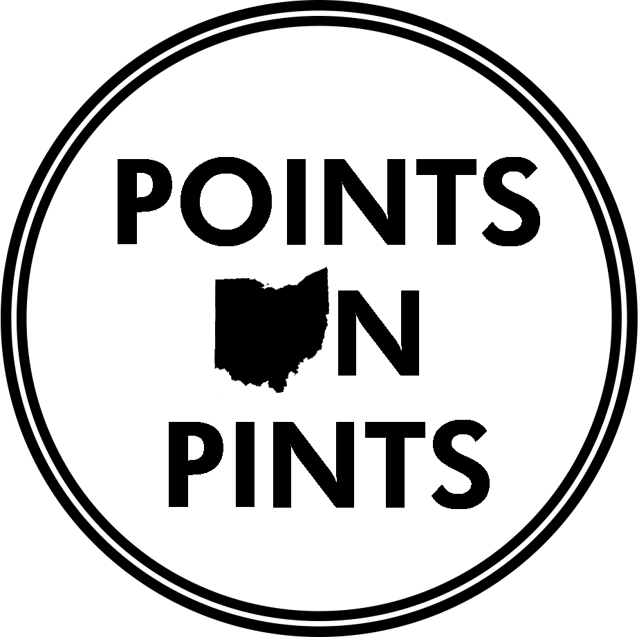 Points on Pints - Craft Breweries in Ohio