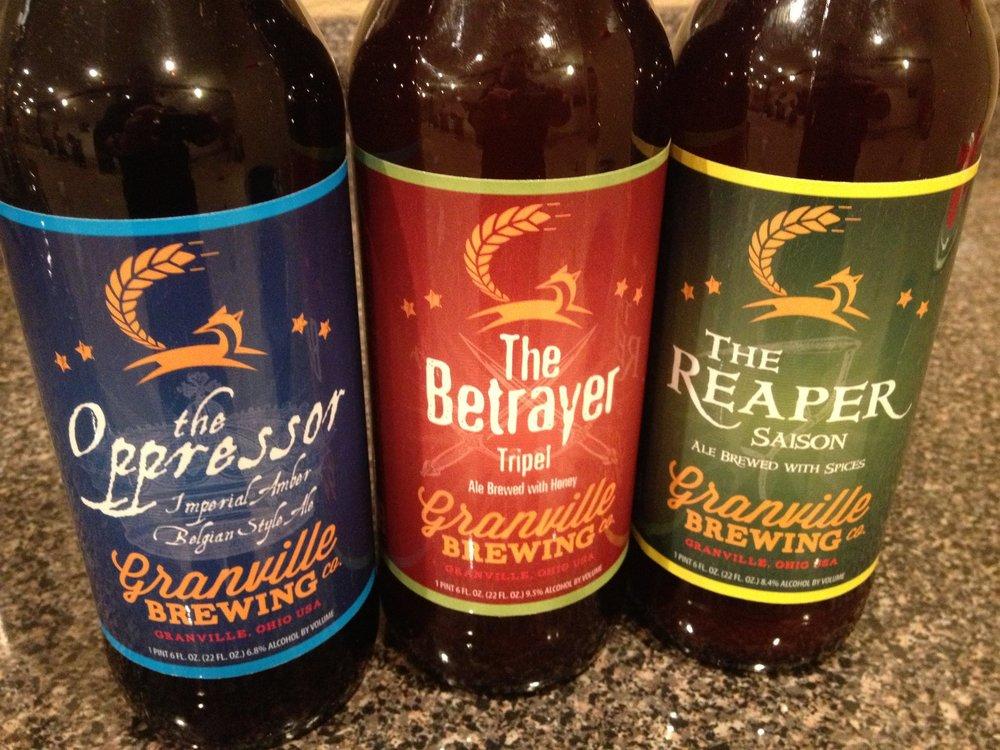Granville Brewing Beers.jpg