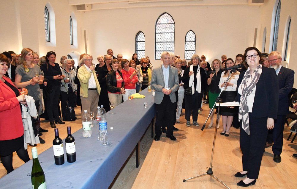 Photo HASSE FERROLD. Speech by  Her Excellency Ms. Cliona Manahan, Ambassador of Ireland to Denmark