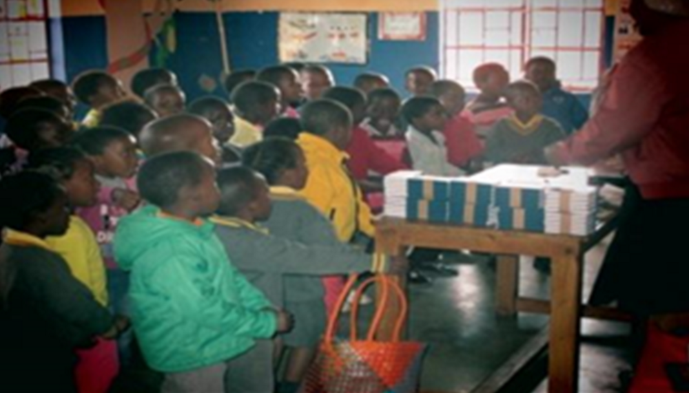 Ministering in a pre-school — Mbambane, Swaziland