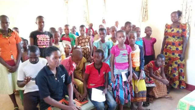 Participants at Primary School Camp - Tanzania