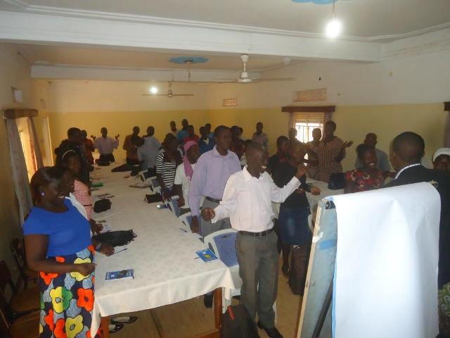 Volunteer Training - Uganda