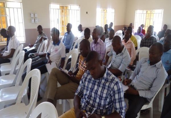 Training session - Maiduguri, Nigeria