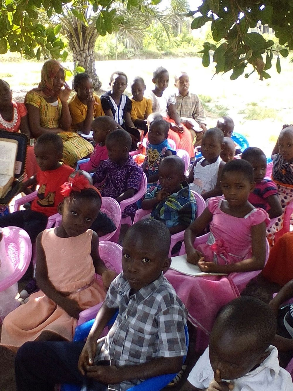 Children at Camp - Tanzania