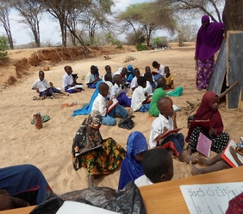 School in session – Garissa, Kenya