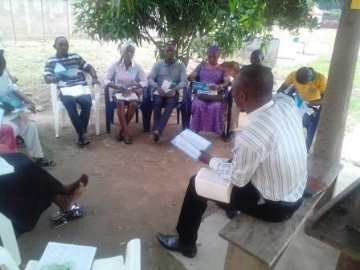 Bible Study Group - Post Secondary Retreat, Jalingo, Nigeria