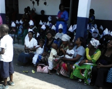 Ministering to children - Goma, Congo DR
