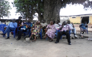 Some participants at Parent's Day - Mbandaka, Congo DR