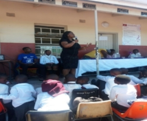 Students' Assembly – South Africa