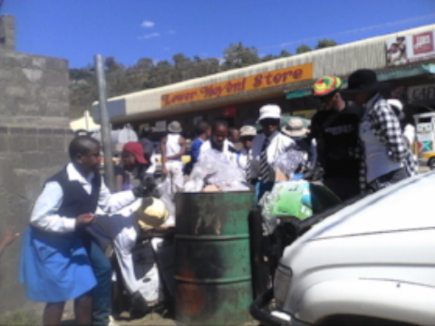 Clean-up of Quthing - Lesotho