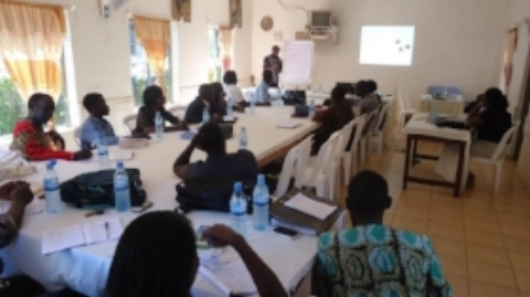 Volunteers' Training – Gulu, Uganda