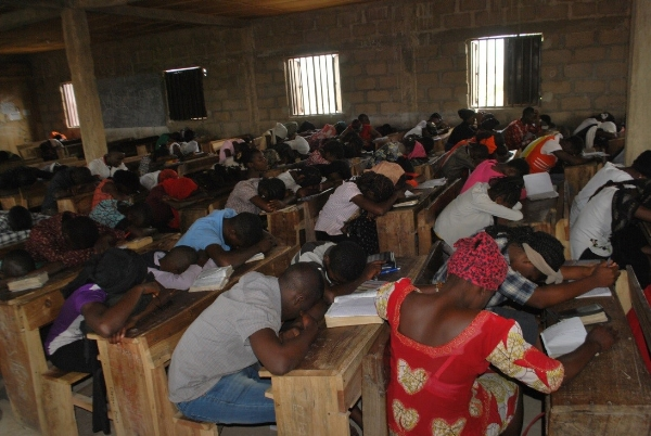 Prayer Time at Leadership Training – Nigeria
