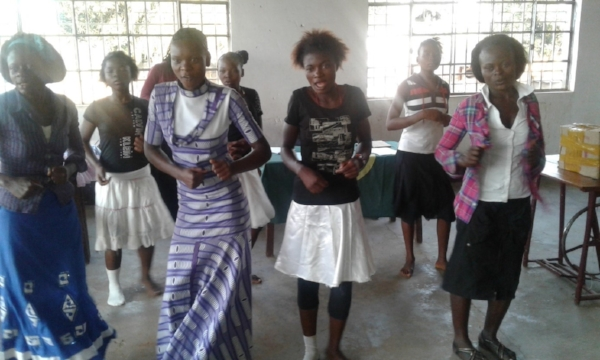 Celebrating Graduation – BAMATU Center, Congo