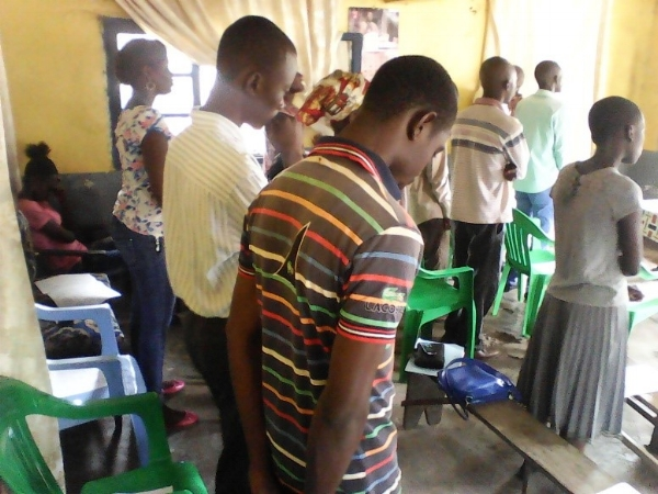 New Believers After Ministry – Mbandaka, Congo DR
