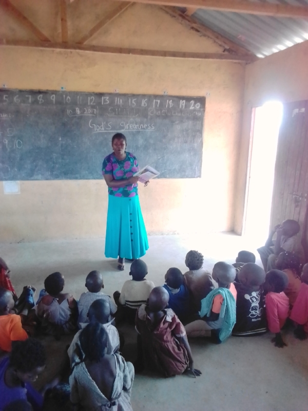 A Class in Session – Mission School, Kenya
