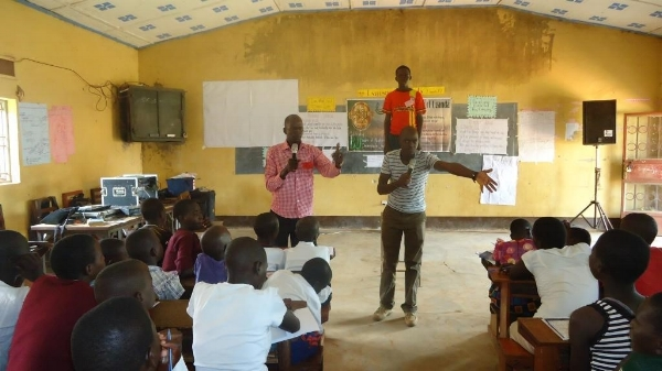 A Values Class in Session - Uganda