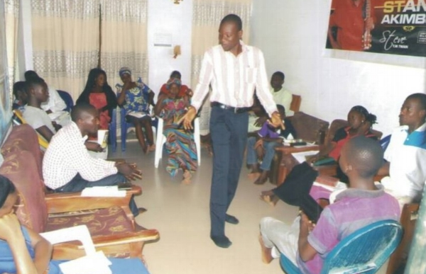 A Session During Leadership Training – Gashua, Yobe Nigeria