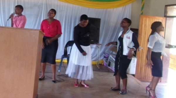 Malunge High School Farewell Function - Swaziland