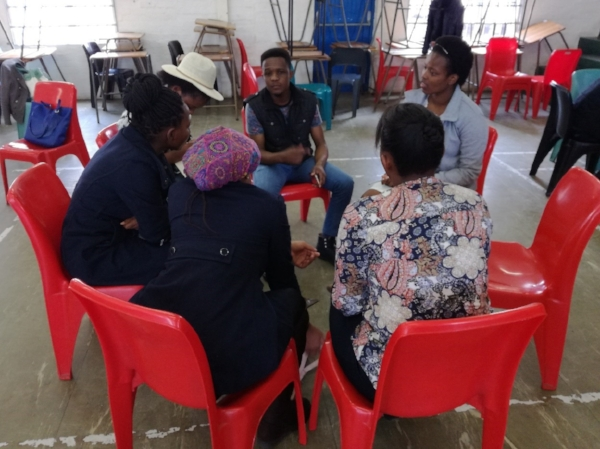 Small Group during Conference – South Africa