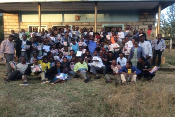 Participants in Children Ministry Training – Hosanna, Ethiopia
