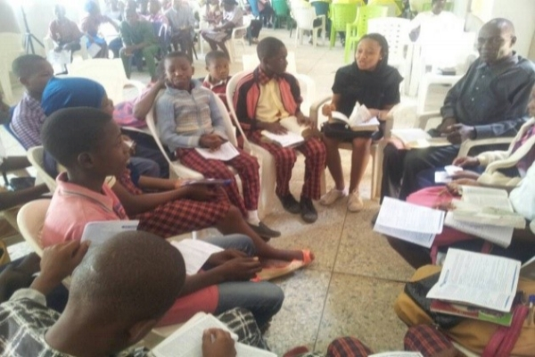 Small Group Discussion – Kaduna, Nigeria