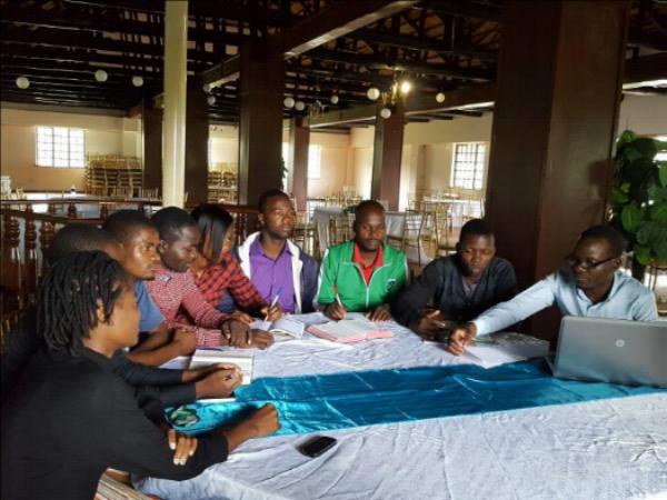 Discussions During Evangelism Training - Zimbabwe