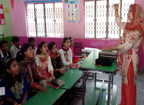 Children in VBS - Pakistan