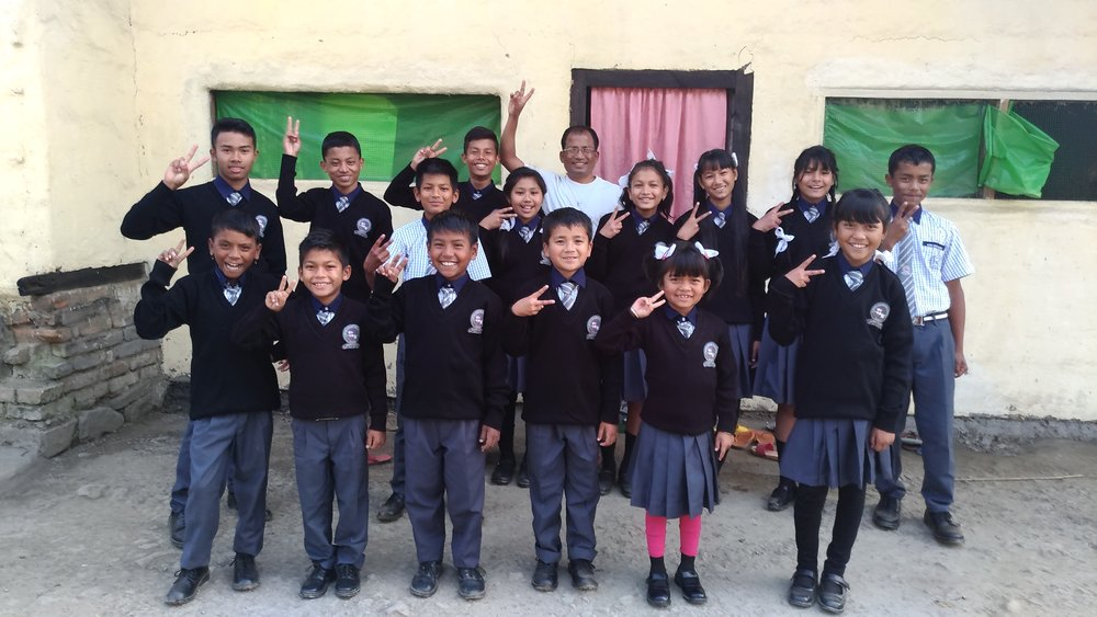 Manipur Home kids in school uniforms 2-2017.jpg