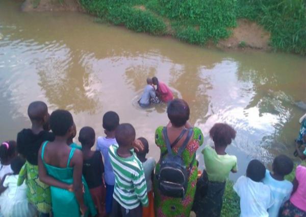 Baptism in Mabakou, Beni – Congo DR