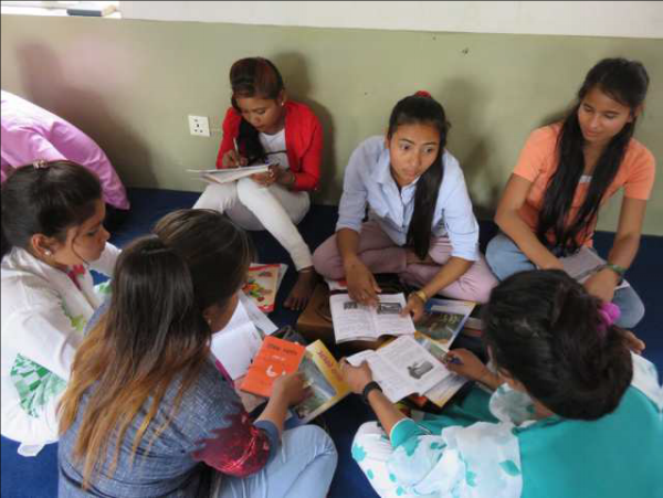 Group Discussion at VBS - Tikapur, Nepal