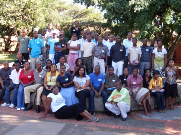 Participants in Evangelism Workshop – South Africa