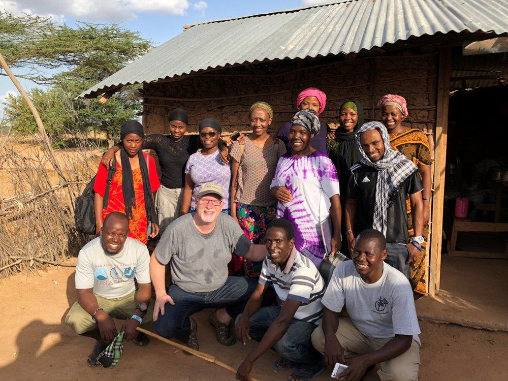 The Team Near Kenya Somali Border