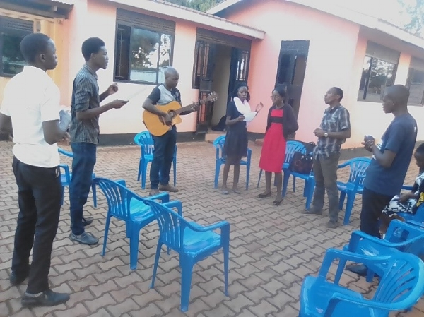 Camp Leaders' Morning Devotion - Uganda
