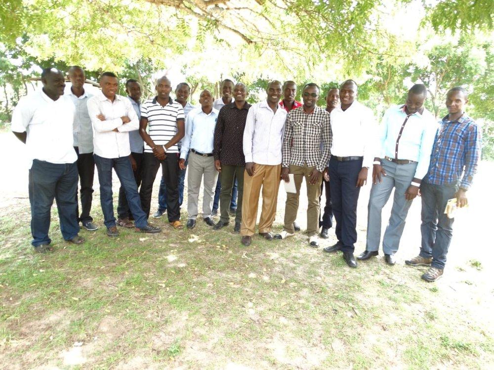 Participants in Evangelism Training - Kenya