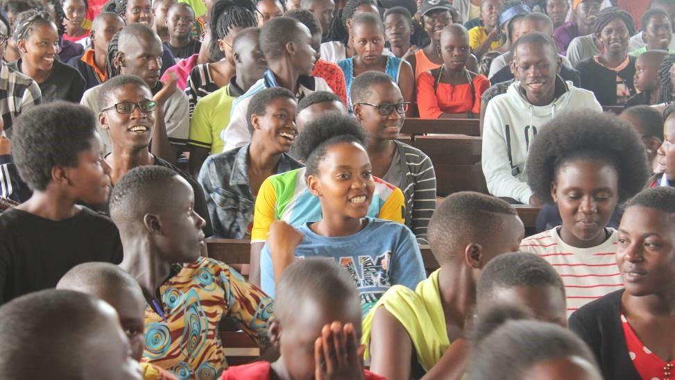 Teens at Camp - Uganda