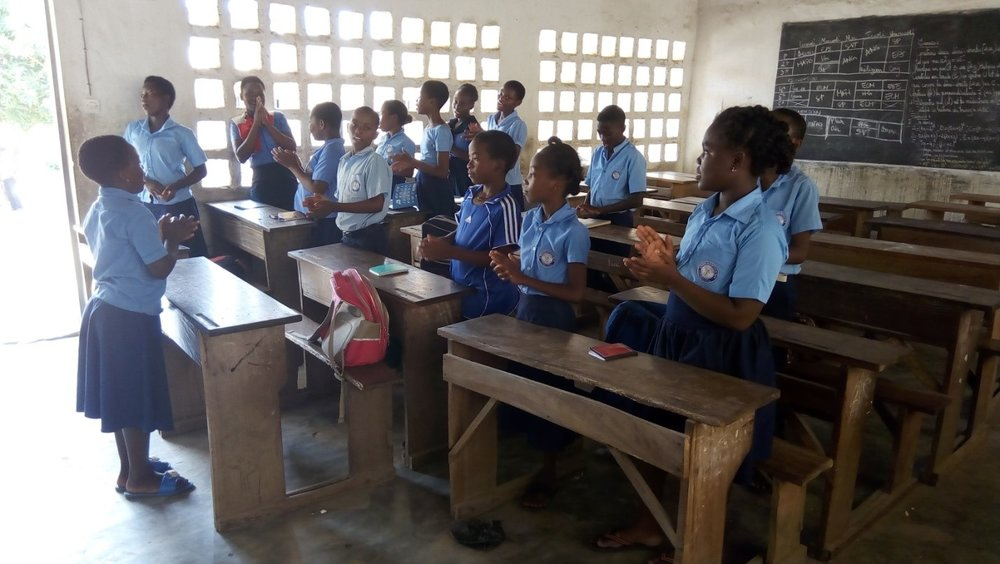 Bible Club in Session - Togo
