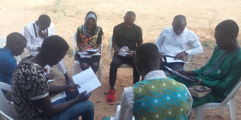 Small Group Bible Study during ALTP - Yola, Nigeria