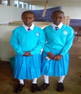 First Adhama Girls to Join High School - Kenya