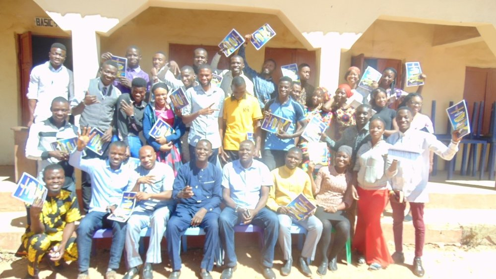 Participants at Refresher Training – Sokoto, Nigeria