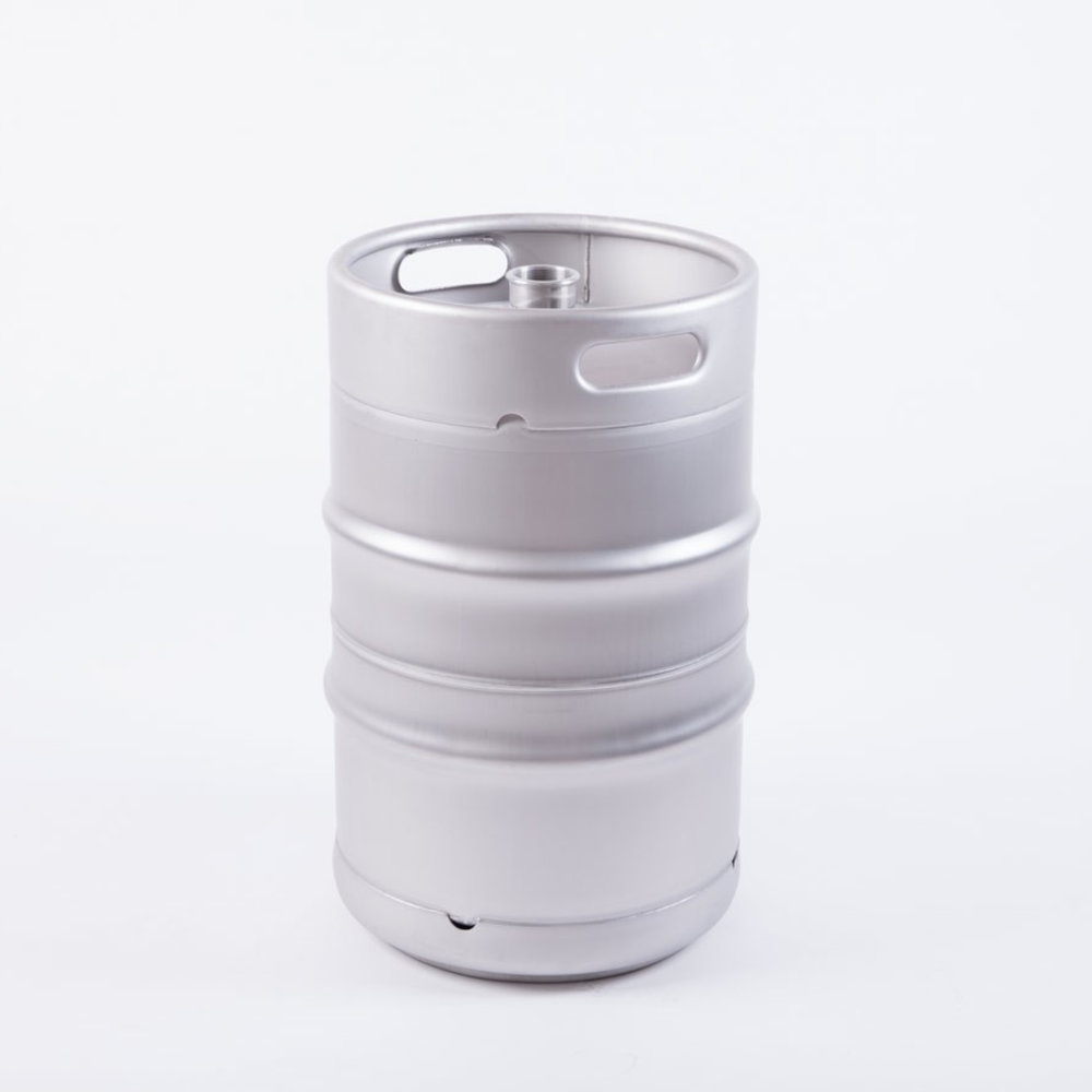 DIN 50 L Keg - These DIN kegs are made of the best 1.4301 SUS304 (AISI 304) stainless steel and comply with the international DIN standard. They offer absolute safety for all your drinks, are unbreakable, are passivated, pressurized and come in the standard version with a Micromatic or DSI Fitting, which of course in the type is freely selectable. In addition, we offer on our kegs 30-year warranty from the date of purchase and the possibility of individual adjustments by add-ons.