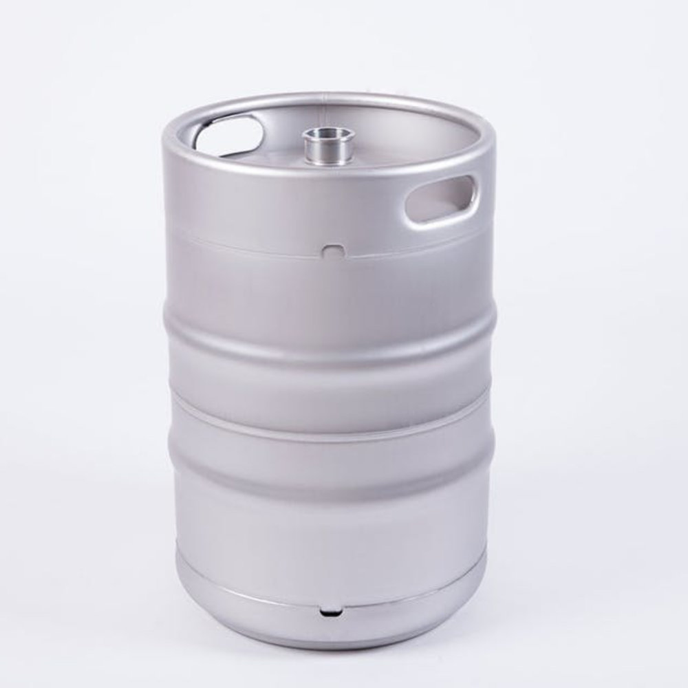 1/2 BBL Keg - These US (bbl) kegs are made of the best 1.4301 SUS304 (AISI 304) stainless steel and comply with the international US (bbl) standard. They offer absolute safety for all your drinks, are unbreakable, are passivated, pressurized and come in the standard version with a Micromatic® or Aobaosi® Fitting, which of course in the type is freely selectable. In addition, we offer on our kegs 30-year warranty from the date of purchase and the possibility of individual adjustments by add-ons.
