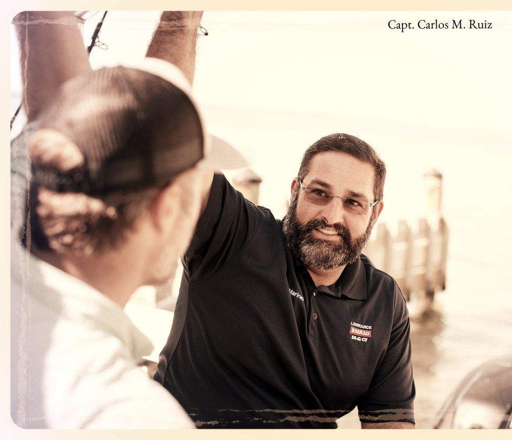 Captain Carlos Ruiz