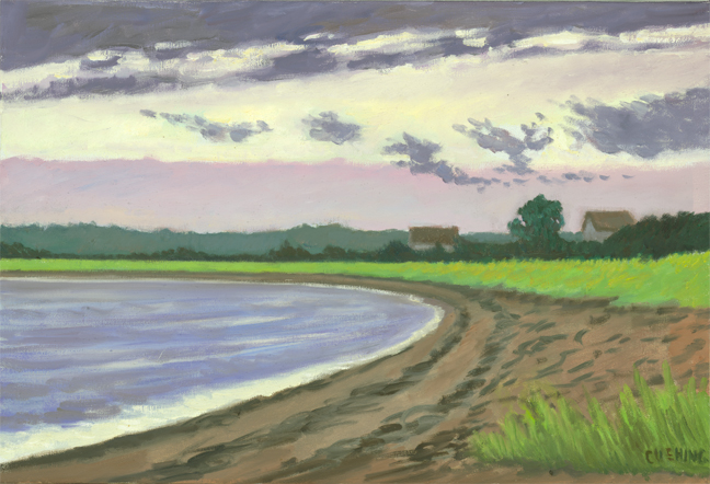 """Long Island Sound"" 15 x 22"" (sold)"