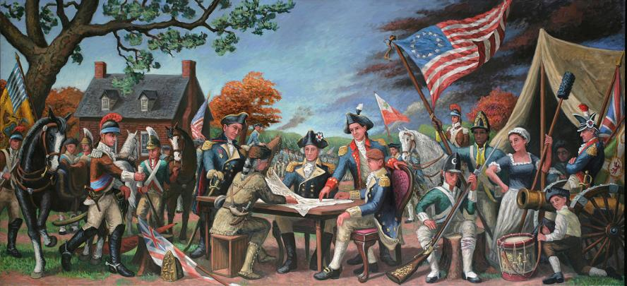 """""""1776""""  36 x 96"""" (sold)"""