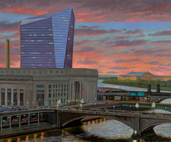 """Twilight, Cire Centre""  36 x 48"" (sold)"